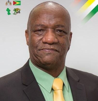 Minister of State, Joseph Harmon.