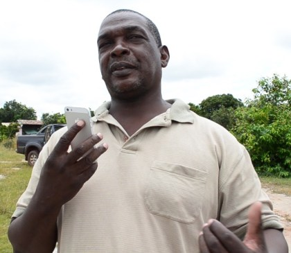 Mayor of Lethem Town, Carlton Beckles