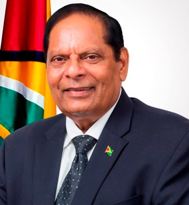 HON. MOSES V. NAGAMOOTOO PRIME MINISTER AND FIRST VICE PRESIDENT COOPERATIVE REPUBLIC OF GUYANA