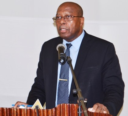 Ministry of Finance's, Finance Secretary, Dr. Hector Butts