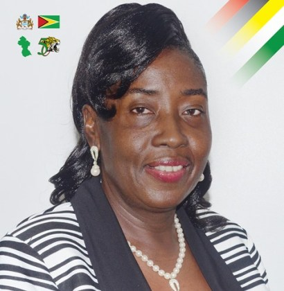 Hon. Valerie Patterson, Minister within the Ministry of Communities, with responsibility for housing