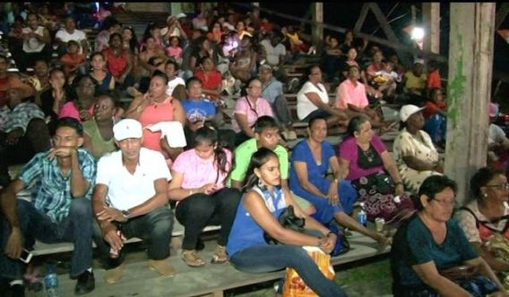 Essequibians at Essequibo Night 2016 at the Anna Regina Community Centre Ground