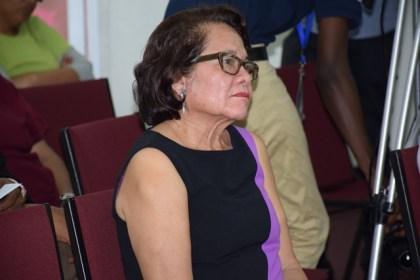 First Lady, Sandra Granger at the Breast Cancer Sensitisation seminar