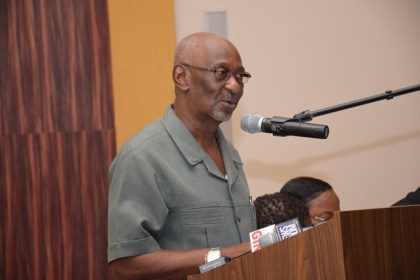 Minister within the Ministry of Social Protection, Kith Scott.