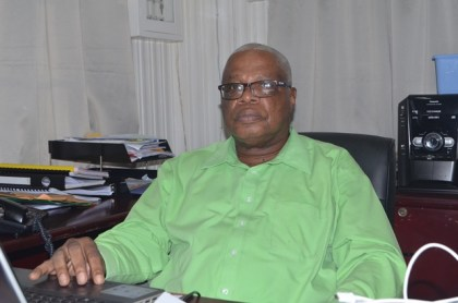 Chairman of the Bauxite Centenary Board Horace James