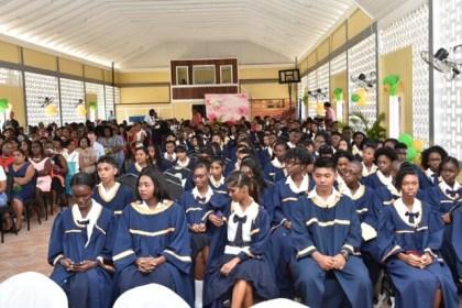Berbice High School's graduating class of 2016