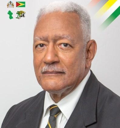Minister of Agriculture, Noel Holder