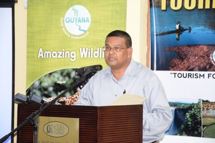 Guyana Tourism Authority's (GTA) Director, Indranauth Haralsingh