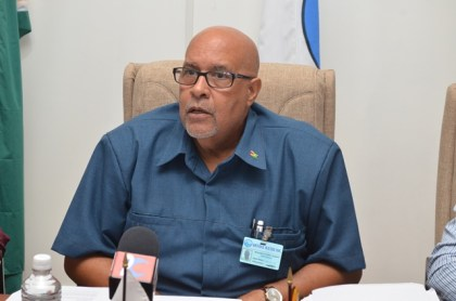 Chief Executive Officer of the Guyana Water Incorporated (GWI) Dr. Richard Van- West Charles