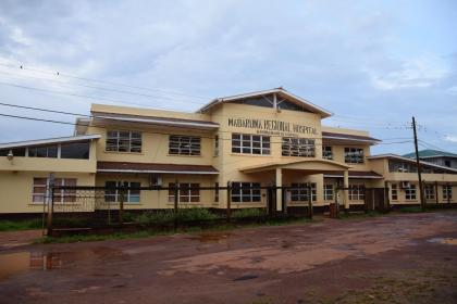 The Mabaruma Regional Hospital, Region One which is to be provided with specialist doctors next year