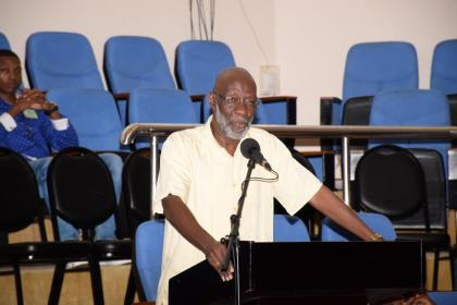 Vincent Alexander, Technical Advisor to the Minister of Education
