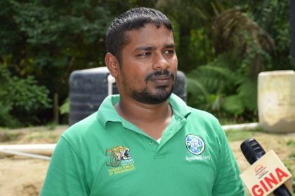Energy Engineer, Guyana Energy Authority, Kenny Samaroo