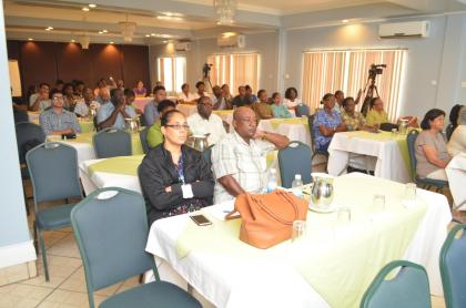 Particpants who attended the conference on Hemodialysis verus Peritoneal Dialysis in the context of Guyana's setting at the Grand Coastal Inn, East Coast of Demerara.
