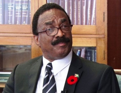 Attorney General and Minister of Legal Affairs, Basil Williams