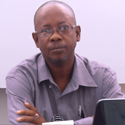 Wilton Benn - Director of Health Sciences and Education Faculty, Ministry of Public Health