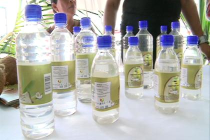Bottled coconut water