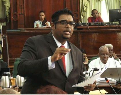 Opposition MP, Irfaan Ali