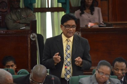 Government Member of Parliament, Charandass Persaud