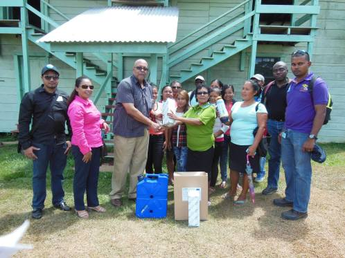 GWI distributes filters to Kamarang