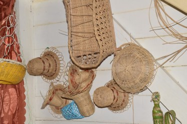 Some of the items on display and for sale at the Batavia Craft Centre