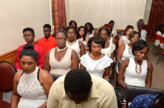 Some of the participants during the closing ceremony of the Self-Reliance and Success in Business workshop