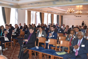 In the audience at the Investment Seminar on Guyana were business executives from infrastructure, port development, oil and gas, tourism and hospitality and shipping sectors, as well as some members of the diplomatic community