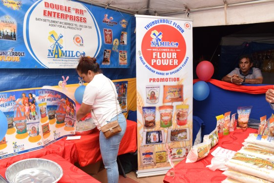 The National Milling Company (NAMILCO) booth