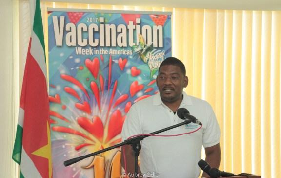 Minister of Health Patrick Pengel (Suriname)