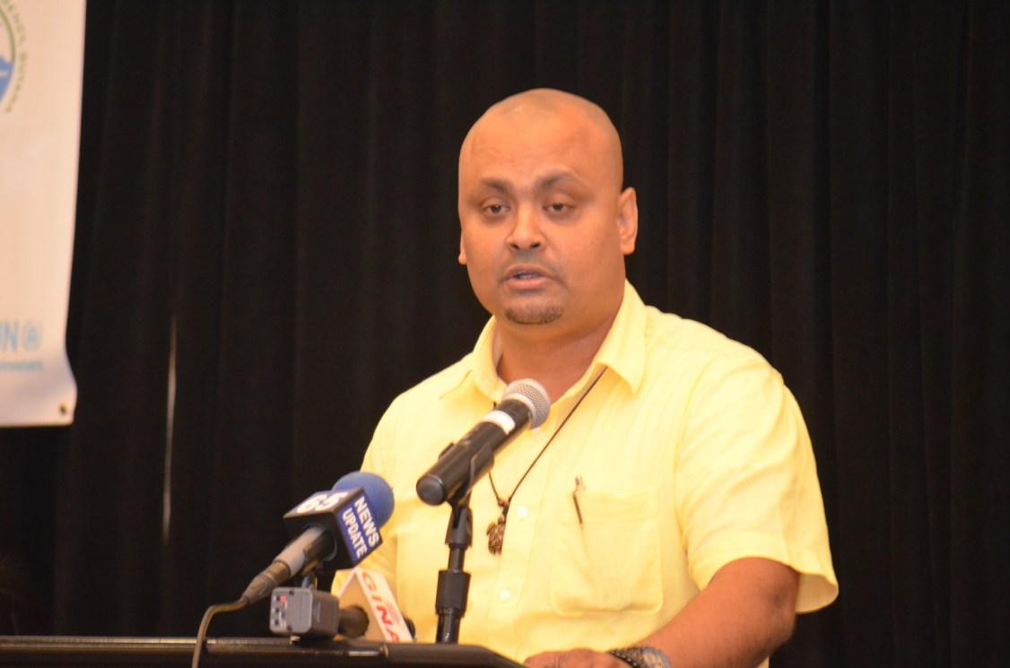 Acting Executive Director of the EPA Khemraj Parsram