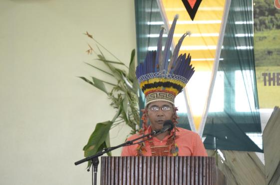 Chairman of NTC, Toshao Joel Fredericks