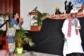 The forum, which was held at the Critchlow Labour College commenced with a libation ceremony