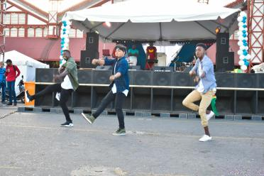 A dance performance by the Euphoria Dance Company