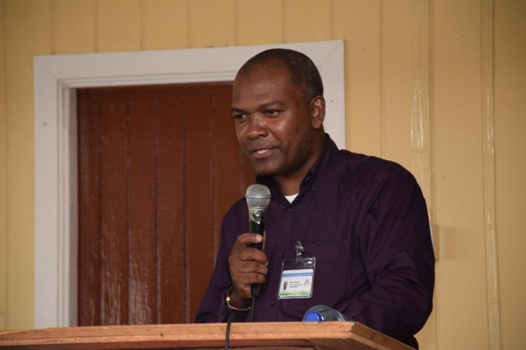 Marlon Pearson, Social Management Administrator NDMA