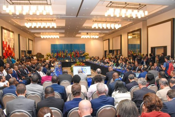 CARICOM Heads of Government at the Opening of the 29th Inter-sessional Meeting