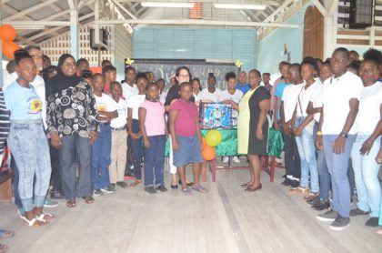 First Lady opens first STEM Guyana Robotics Workshop in