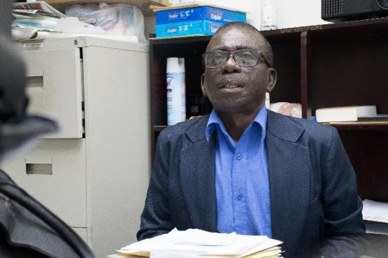Georgetown Public Hospital (GPHC), Chief Executive Officer (CEO) retired Brigadier George Lewis.