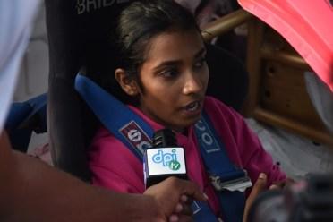 Racer from Guyana, Sharima Khan