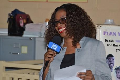 Georgetown District Medical Officer (ag), Dr. Dianele Drepaul