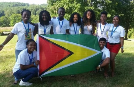 Marissa Foster and the Youth Ambassadors 2016 team