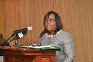 Minister within Ministry of Public Health Dr. Karen Cummings