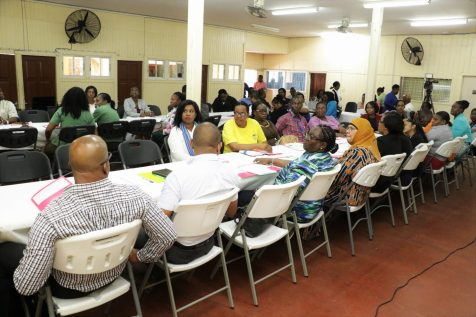Stakeholders participate during the Consultation on Child Labour Policy