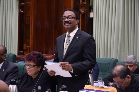 Attorney General and Minister of Legal Affairs, Basil Williams, S.C.