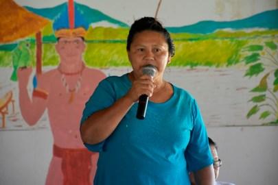 Senior Councillor of Kumu Village, Region Nine, Odelia Francis.