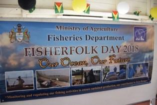 Fisherfolk Day 2018 banner.