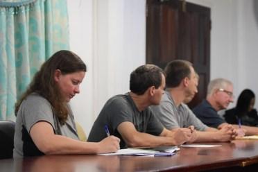 The Pan American Health Organisation (PAHO) team.