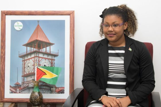 Martina Nedd, Receptionist, Office of the Prime MinisterMartina Nedd, Receptionist, Office of the Prime Minister