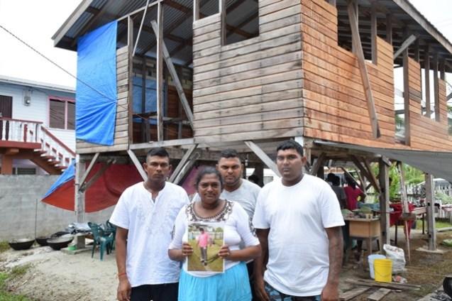 Kawalpatty Mangru and her sons.