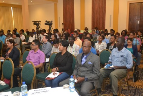 Stakeholders at the consultation on the Health, Safety and Environmental (HSE) requirements session.