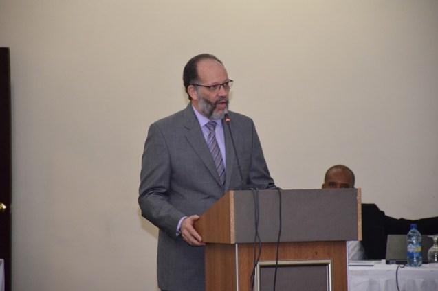 Secretary General of CARICOM Ambassador Irwin LaRocque.