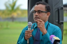 Director of the Berbice Campus, Gomathinayagam Subramanian.